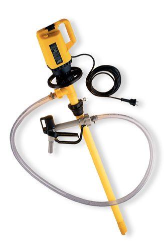 Pompe électrique pour fûts pour acides et bases