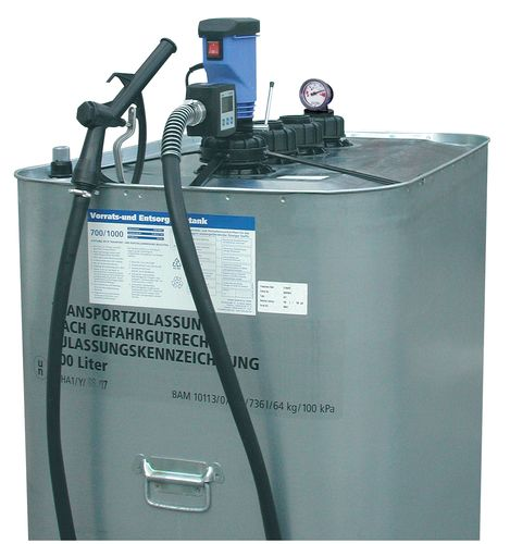 Pompe électrique pour huiles et gazole