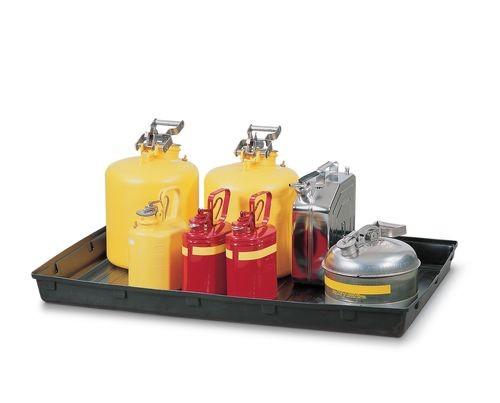 Bac de rétention en PE pour petits récipients, 60 litres