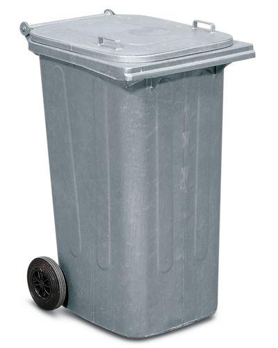 Conteneur à déchets en acier, 120 litres
