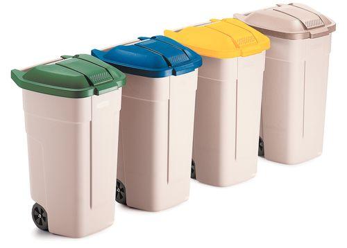 Conteneur à déchets sans couvercle 100L