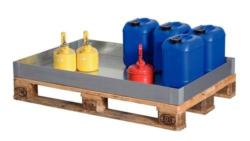 Bac de rétention pour petits récipients, 60 litres