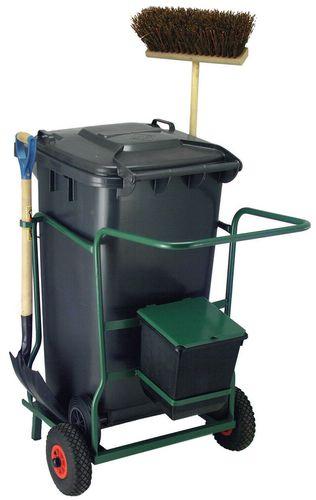 Chariot de nettoyage anthracite