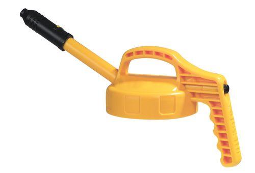 Couvercle fonctionnel jaune pour flacon