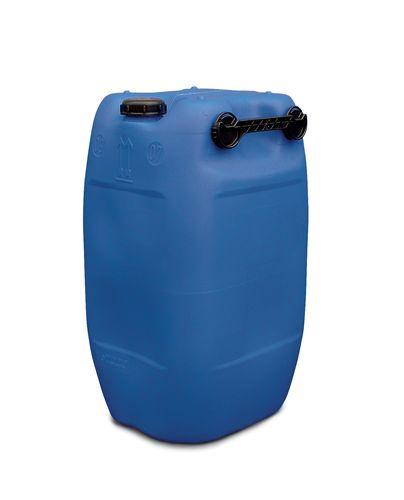 Bidon en polyéthylène (PE), 60 litres, bleu