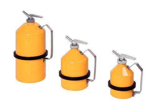 Bidon de sécurité FALCON, acier peint, avec robinet de précision, 1 litre