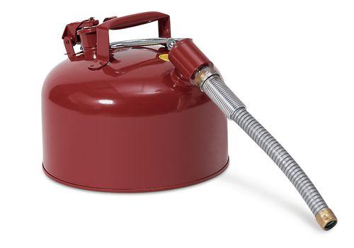 Bidon de sécurité, en acier, 8 litres