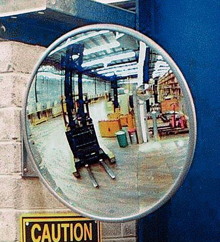 Miroir panoramique, rond, 400 mm, en plexiglas