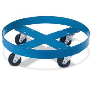 Roule-fût en acier bleu