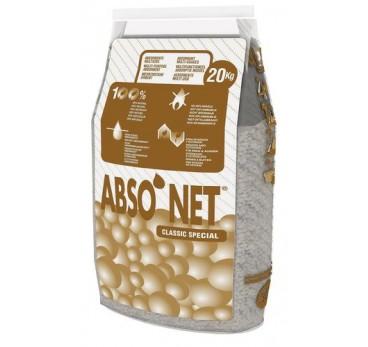 Granulés absorbants, pour produits non agressifs, en sépiolite