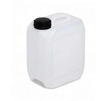 Bidon en polyéthylène (PE), 5 litres, translucide incolore