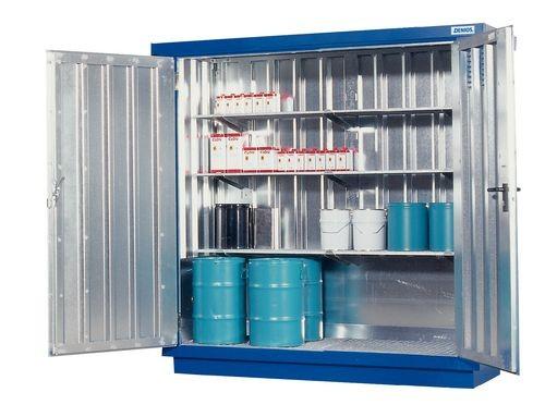 Bungalow avec bac de rétention et ventilation, 2m²