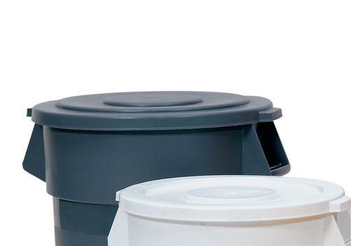 Couvercle pour poubelle multi-usage en PE