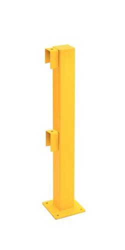 Poteaux de début/fin pour barrière de protection