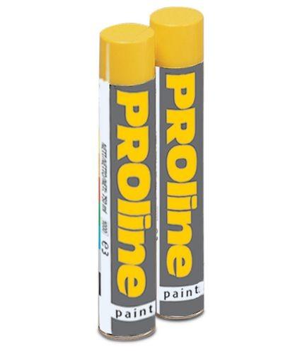 Bombe aérosol de couleur blanche