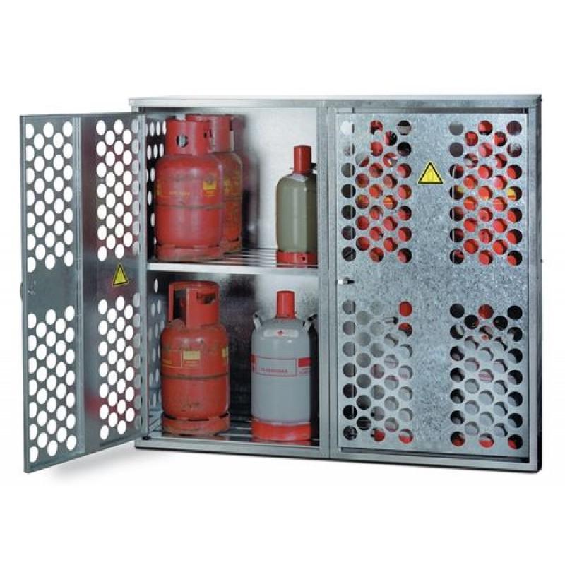 Armoires pour bouteilles de gaz liquéfié