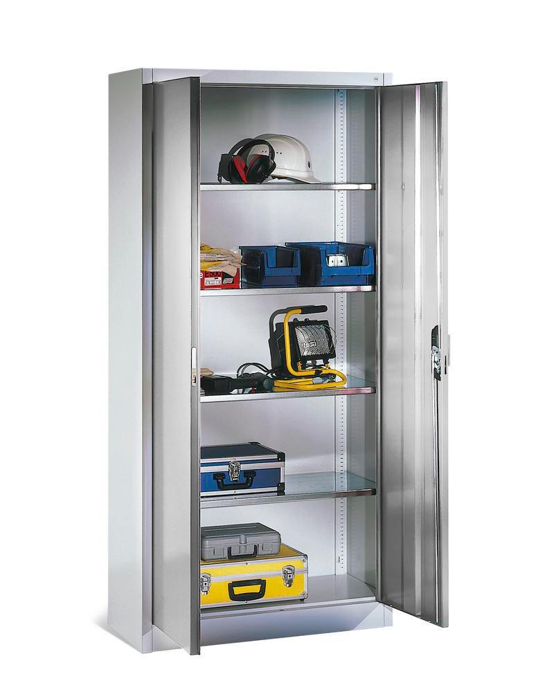 Armoire pour matériel avec portes battantes