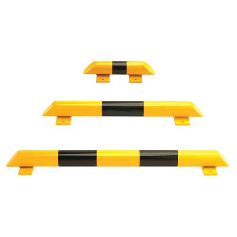 Barre de but e au sol acier jaune noire 1200 mm - Distance barre au sol ...