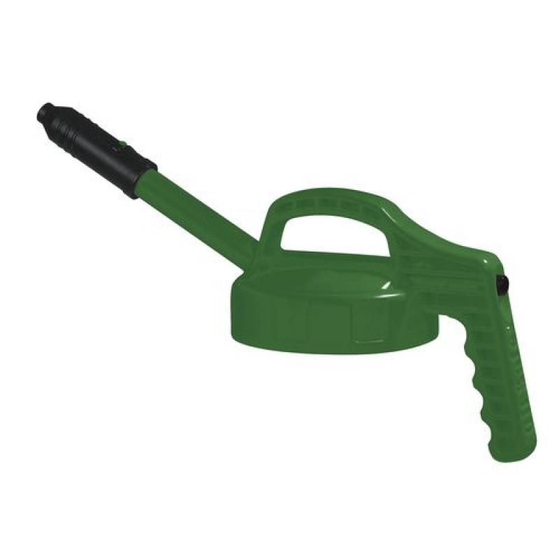 Couvercle fonctionnel vert pour flacon