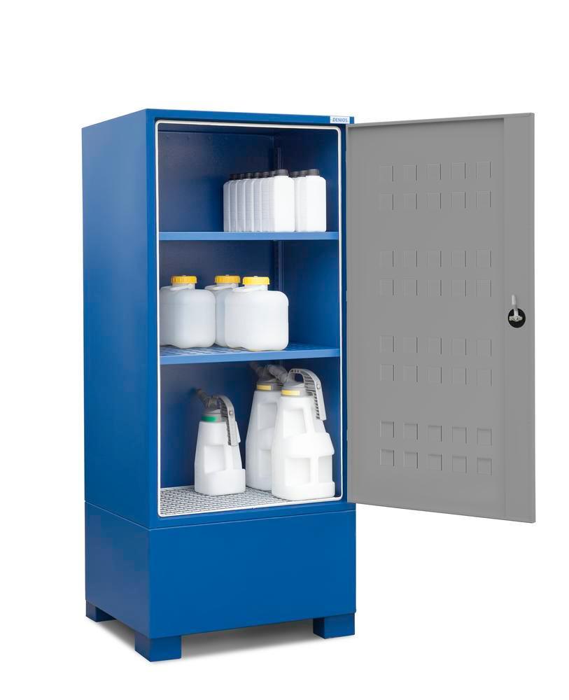 Box de stockage avec 2 étagères pour petits récipients jusqu?à 60 litres
