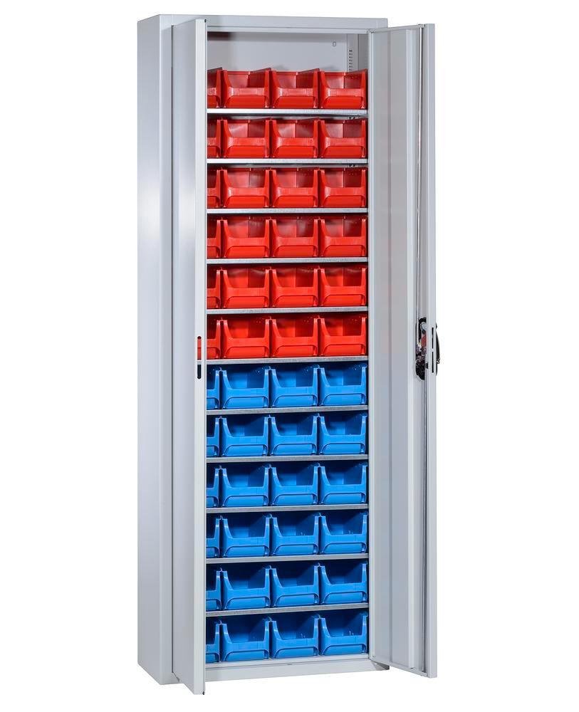 Armoire de rangement avec 48 bacs à bec