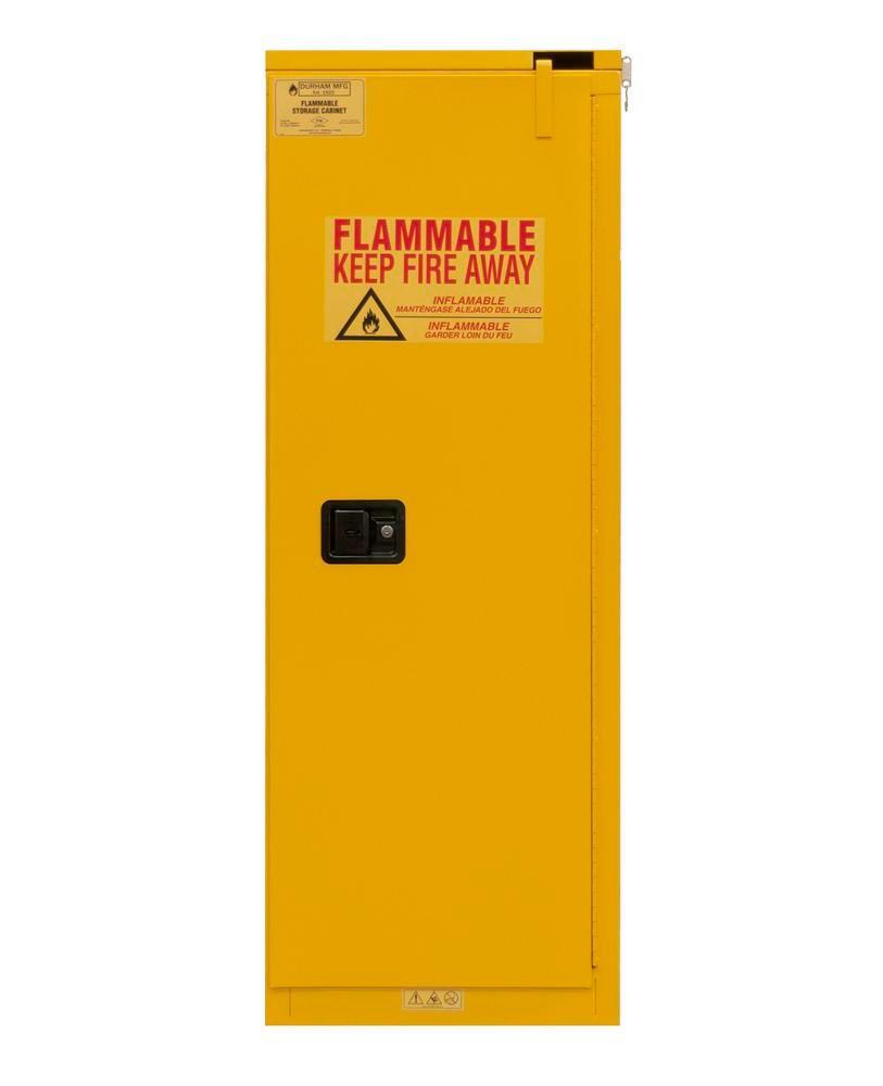 Armoire de sécurité certifiée FM, fermeture automatique L 592