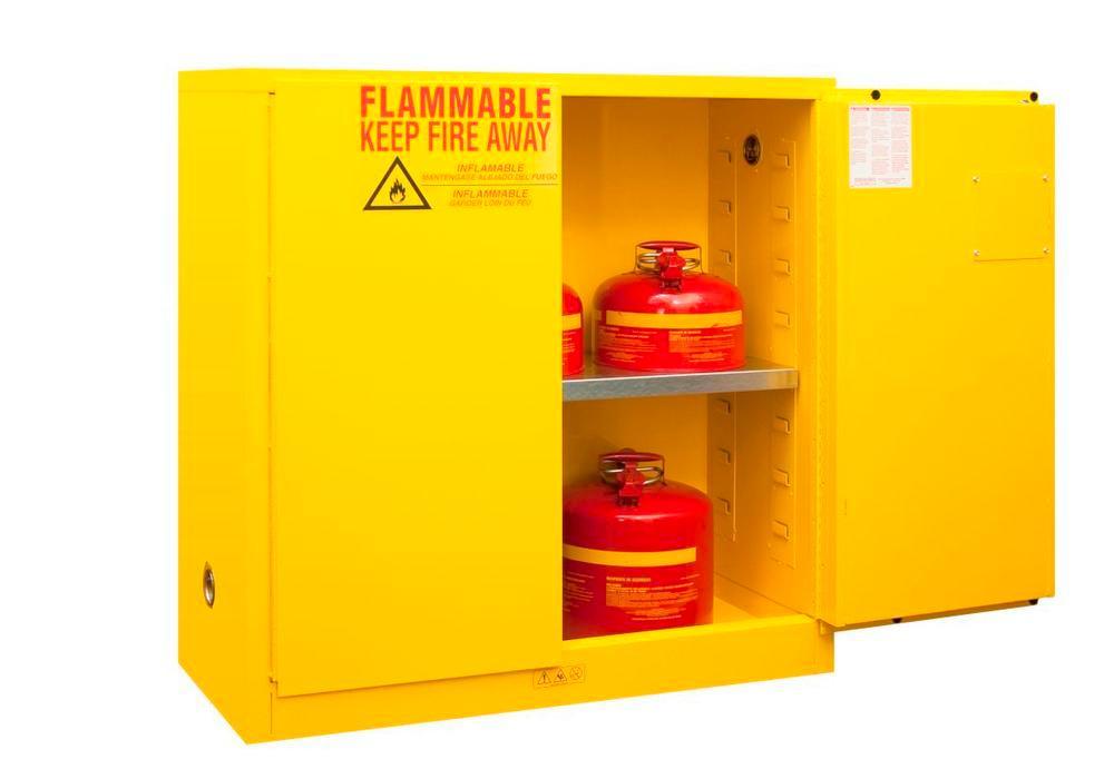 Armoire de sécurité FM, 1 étagère amovible L 1092