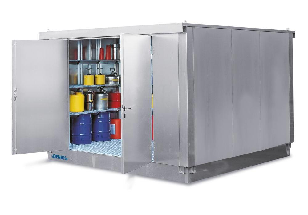 Bungalow DMS W-Store 2520, galvanisé, 5m²