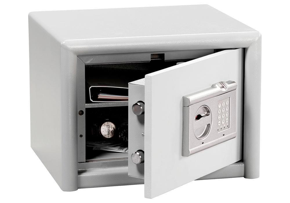 Coffre-fort avec serrure électronique et lecteur d?empreinte