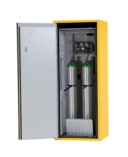 Armoire pour 2 bouteilles de gaz de 10 litres, coupe-feu 90 minutes