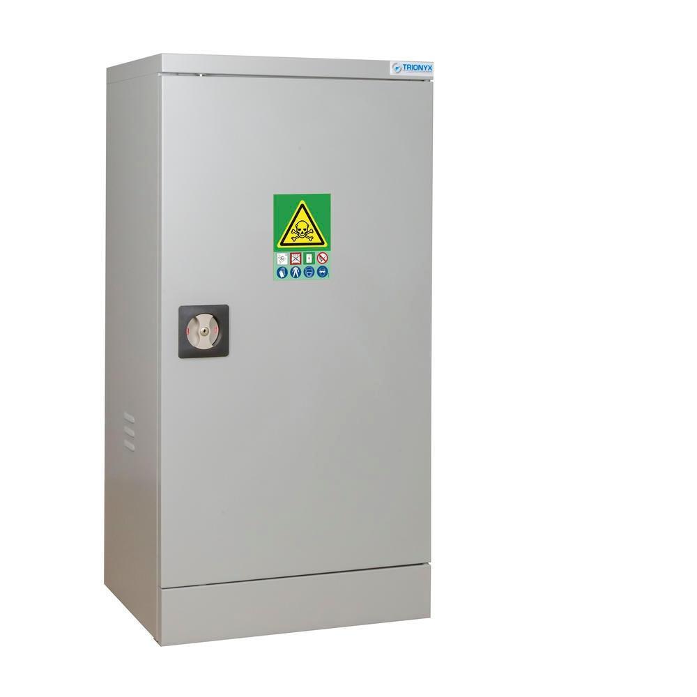 Armoire de sécurité pour le stockage de produits phytosanitaires, H=1000 mm, 1 porte