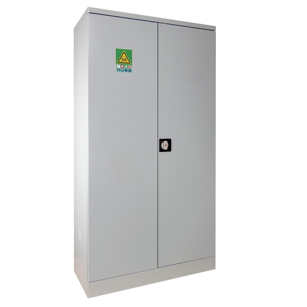 Armoire de sécurité pour le stockage de produits phytosanitaires, H=1800 mm, 2 portes