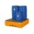 bac-de-retention-base-line-en-polyethylene-orange-avec-caillebotis-en-pe-pour-4-futs-de-200-litres-1-898b