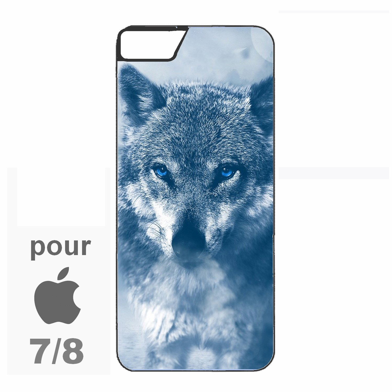 loup coque iphone 7