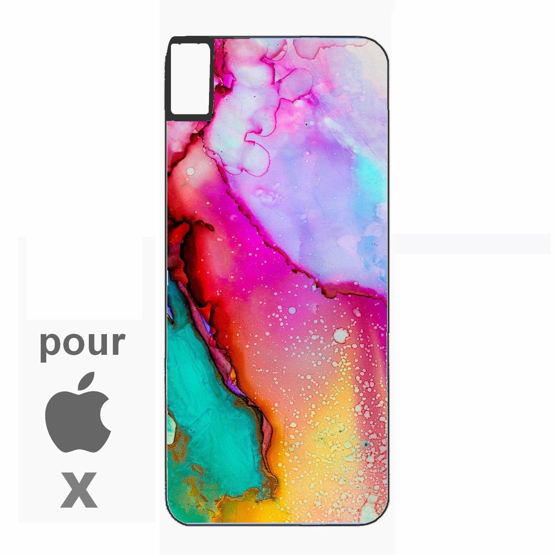 coque iphone x peinture