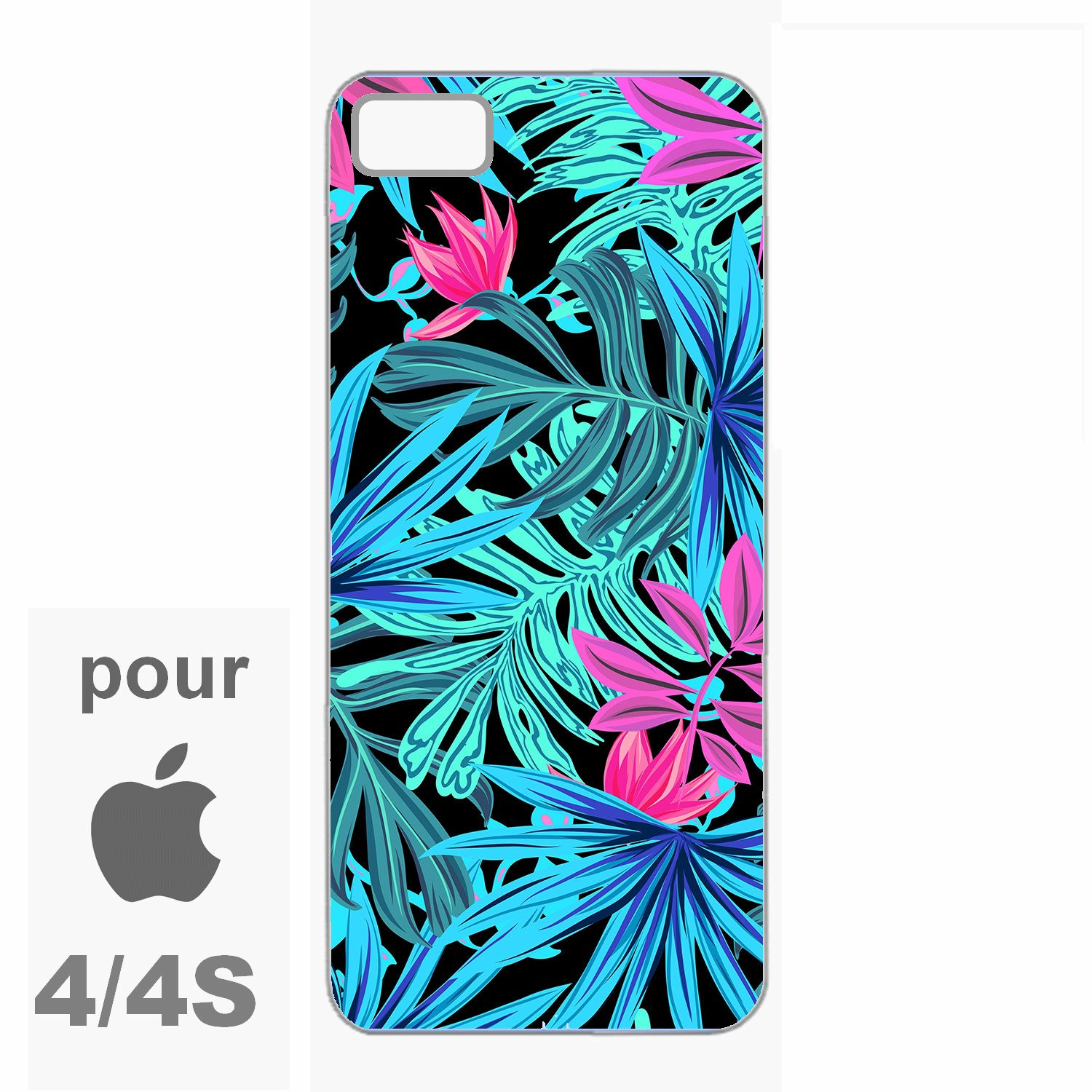 coque iphone 4 couleur