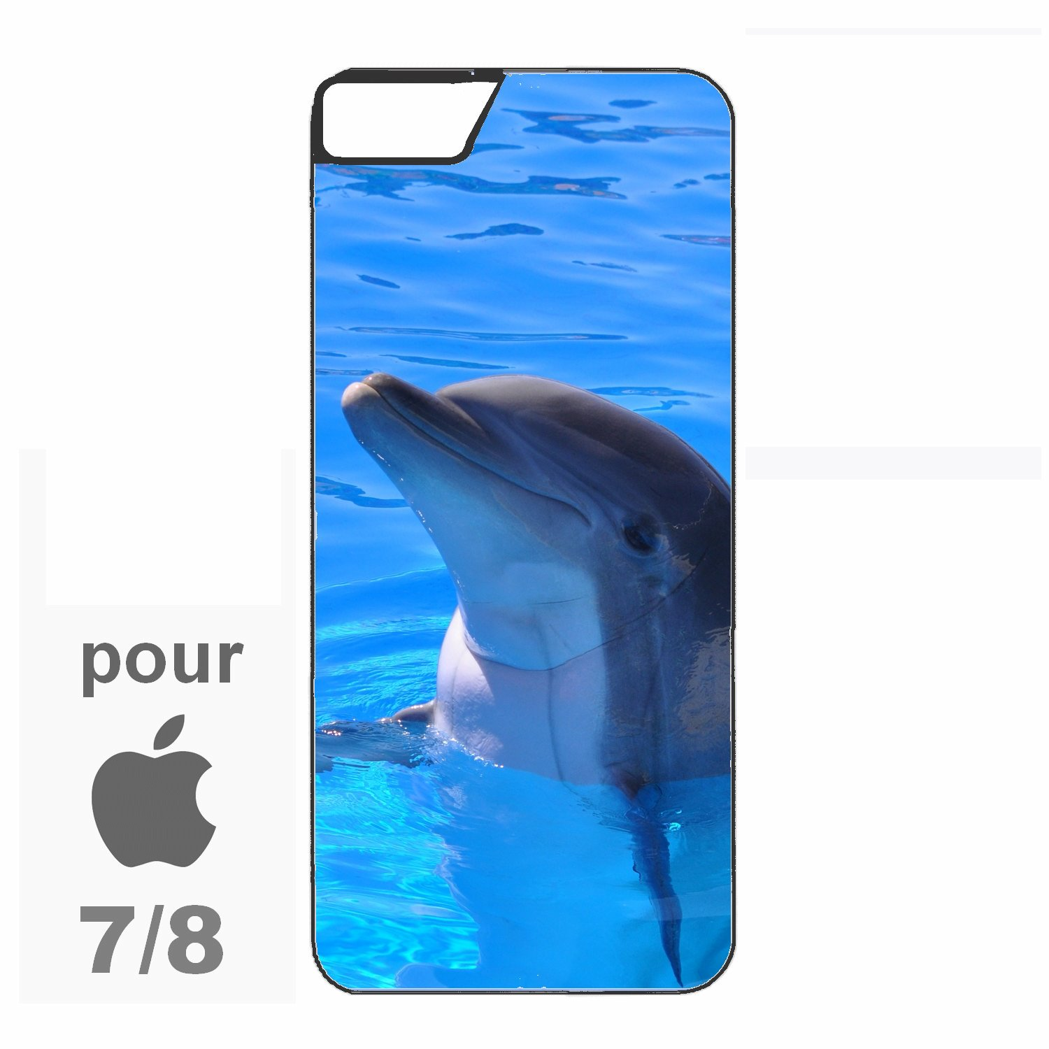 coque dauphin iphone 8