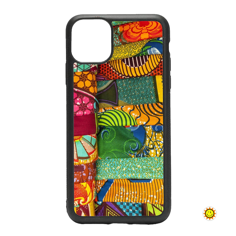 Coque Iphone Wax ethnique visuel 3006