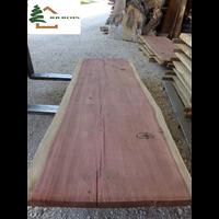plateau sequoia live edge structuré ss239