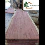 plateau sequoia live edge structuré ss237