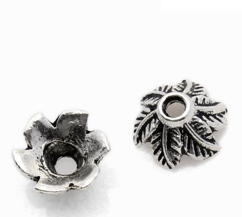 Lot de 10 Coupelles en métal argenté 11mm