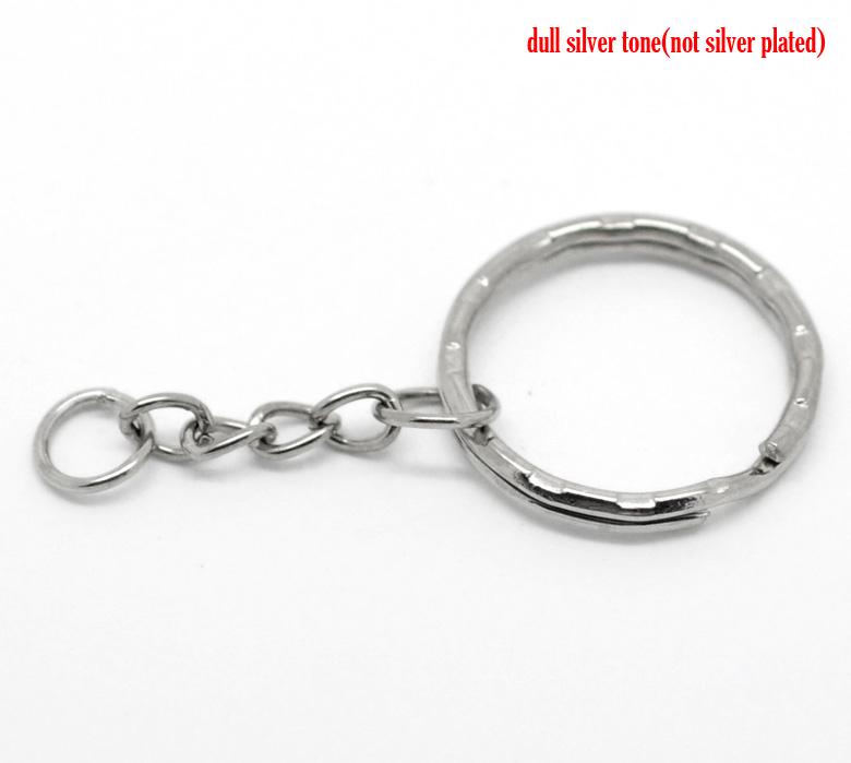 *Anneaux de Porte-Clés Rond 53mm