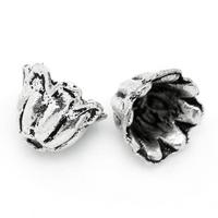 Lot de 14 Coupelles cônes en métal argenté 7x5mm