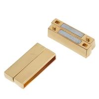 Grand fermoir magnétique aimanté doré 37x19mm pour bracelets