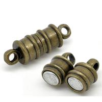Lot de 2 Fermoirs Magnétiques aimantés Hématite Couleur Bronze