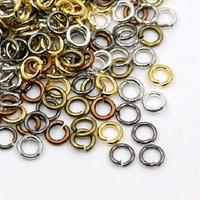 Lot de 20 g d'anneaux de jonction Doré, bronze, argenté, gunmétal, cuivre