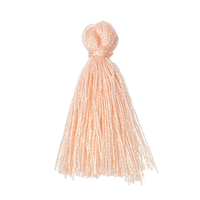 Pompon en Coton Orange Clair 30.0mm