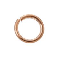 Lot de 150 Anneaux de jonction en métal doré rosé; diamètre : 5mm   Matière: métal doré rosé