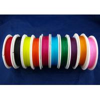 Une bobine de  fil élastique de couleur en Nylon 0.8mm 10 mètres