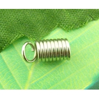 Lot de 50 Attaches Embouts ressort 5x10mm